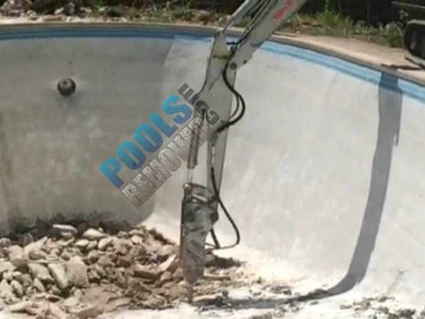 Pool Removal in Potomac Maryland- Concrete Removal