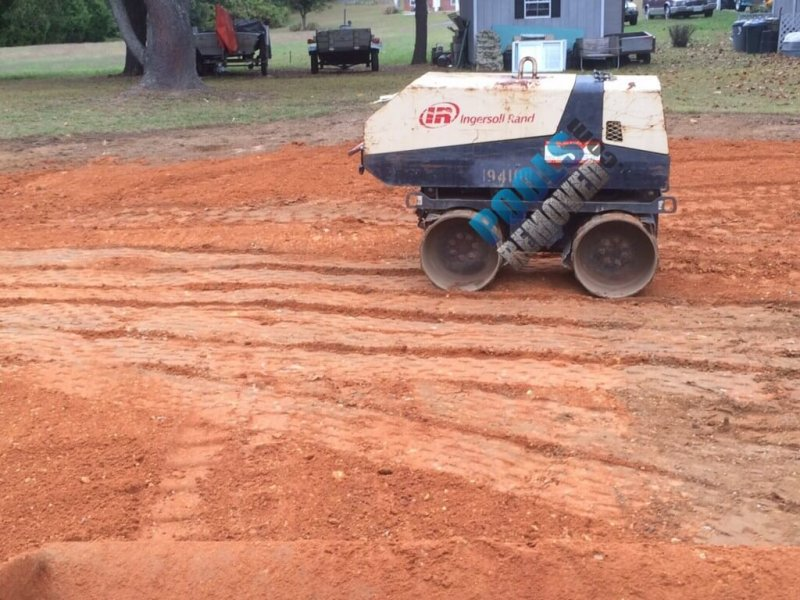Rolling Dirt After Fill In- Remove a Pool in Maryland