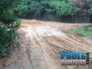 During Tennis Court Removal Process- Virginia