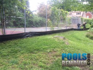 Old Tennis Court- Removal Maryland & Virginia