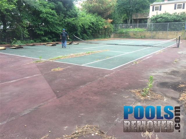 Tennis Court Sport Court Removals Maryland Northern Virginia
