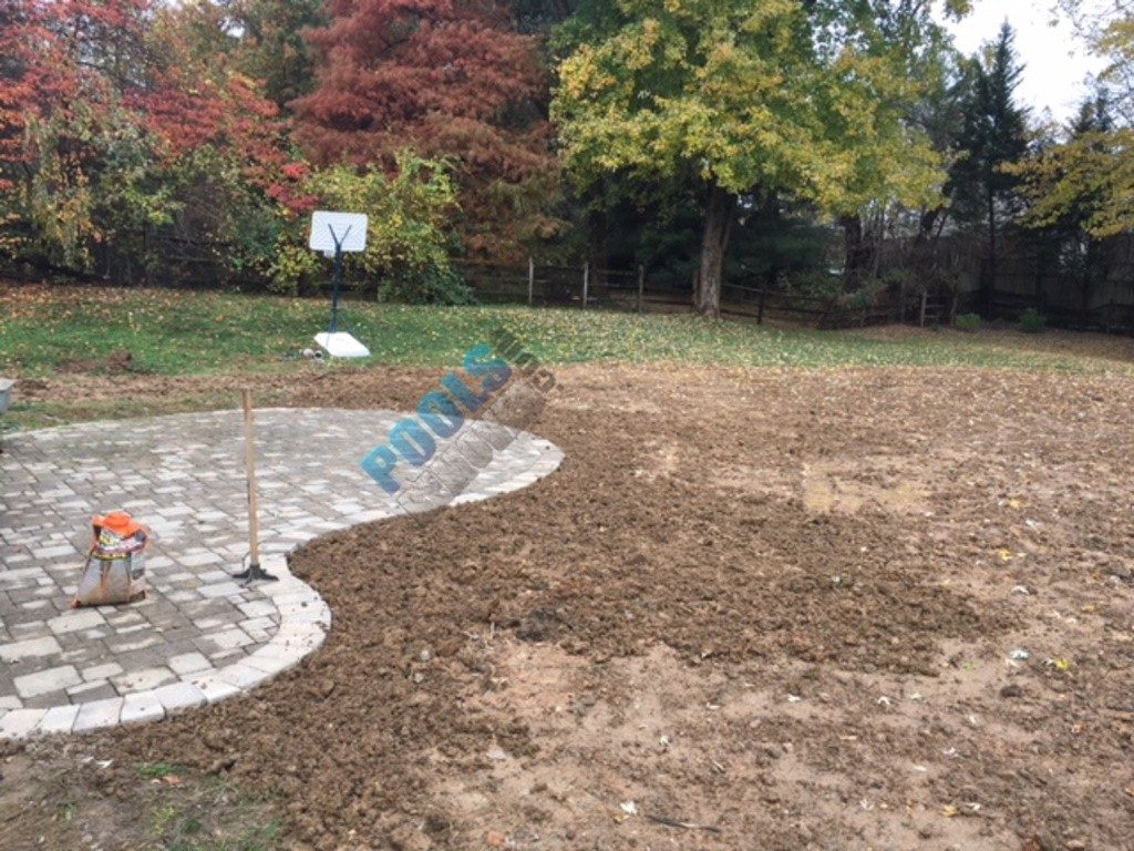Landscaping- After Pool Removal in Maryland
