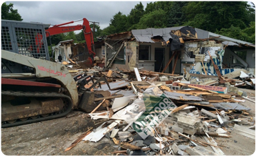 House Demolition in Maryland