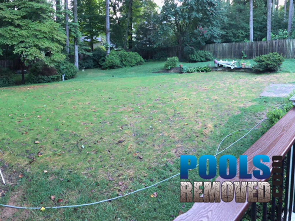 Final Result after Removing An In-ground Swimming Pool