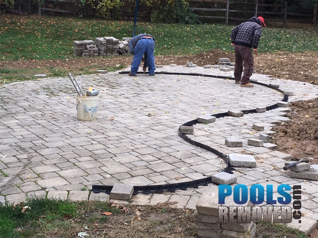 Columbia MD pool removal company
