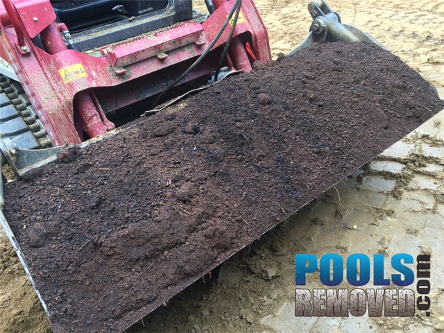 Top Soil Added- During Demolition of Pool- Virginia