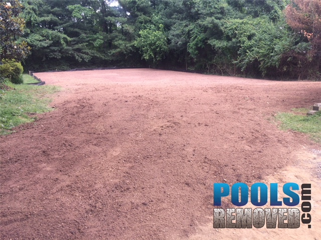 Top Soil Added- Tennis Court and Pool Removal Company- Virginia and Maryland