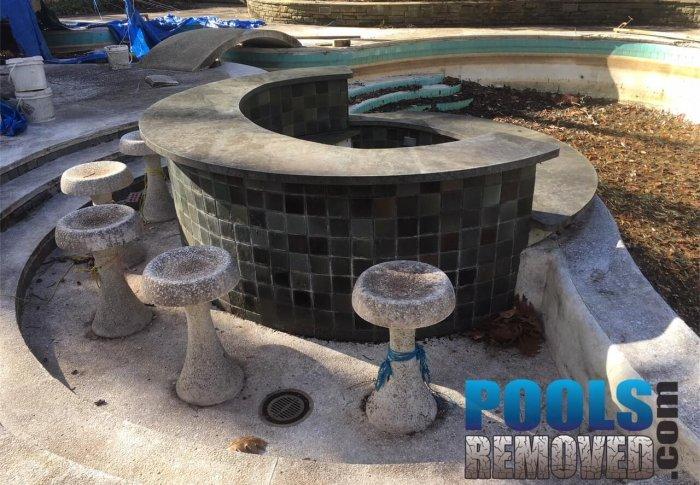 Bottom of Pool- Demolishing Pools in Maryland and Virginia