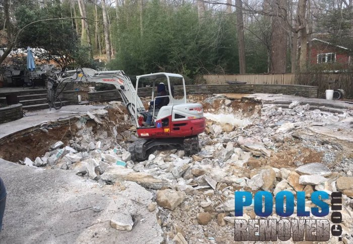 Demolishing Swimming Pool- Removal in Virginia and Maryland