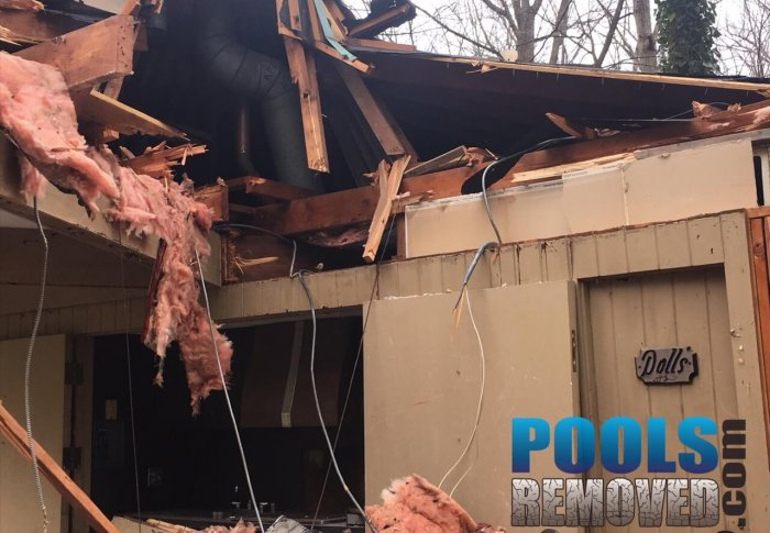 Building Damage- Pool Fill In and Demo in Virginia and Maryland