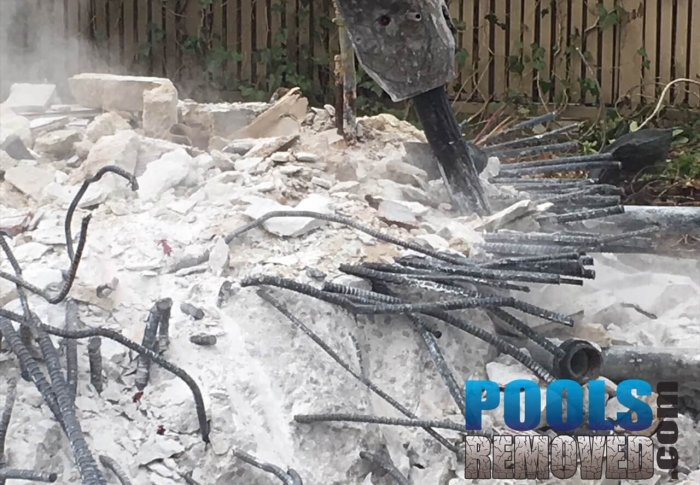 Demolishing Pool Concrete- Removal in Virginia and Maryland