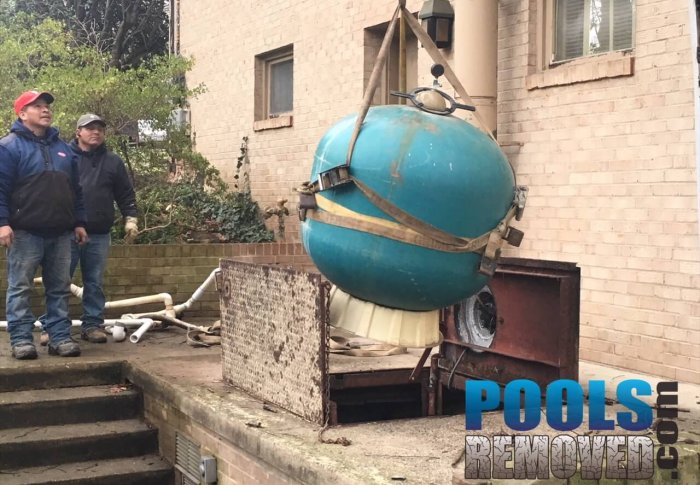 Pool Removal Equipment- Maryland and Virginia