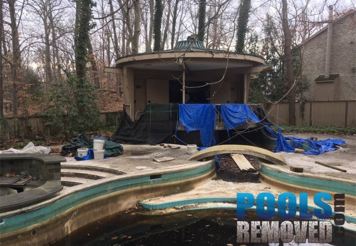 North Bethesda Pools Removed- Old Pool