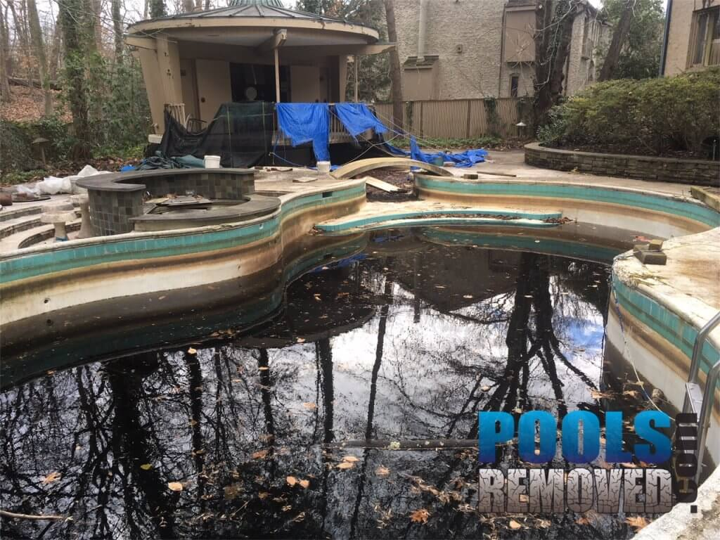 Swimming Pool Demolition in Maryland