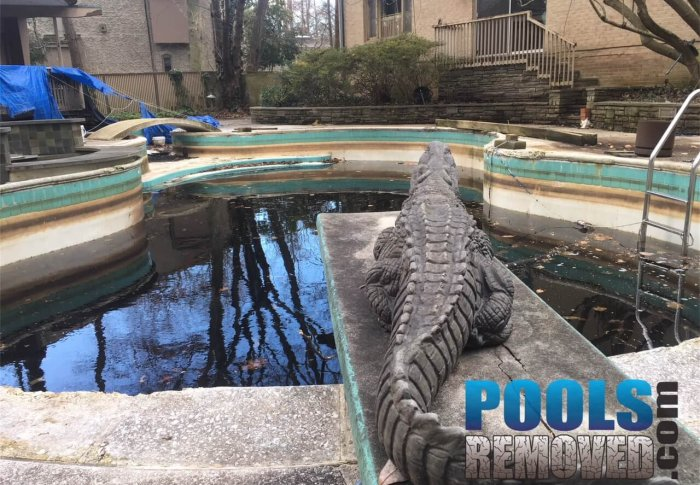 Remove an old Pool in Virginia and Maryland