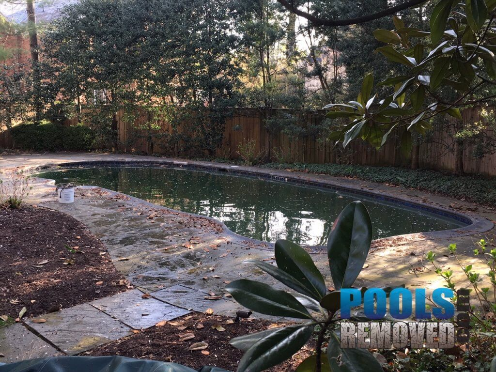 Remove a swimming pool Bethesda MD