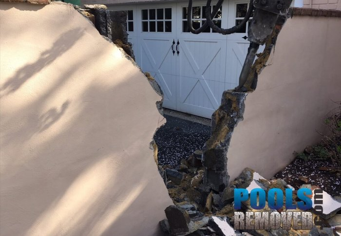 Access to removal a pool in Bethesda MD