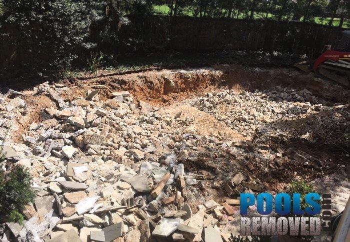 Concrete pool demolition MD