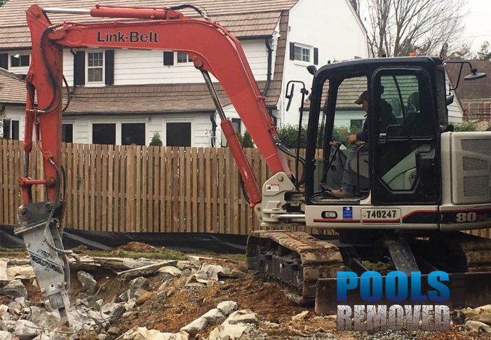 Maryland & Virginia Pool Removal