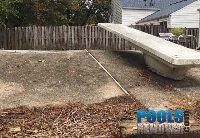 Frederick MD Pool Demolition