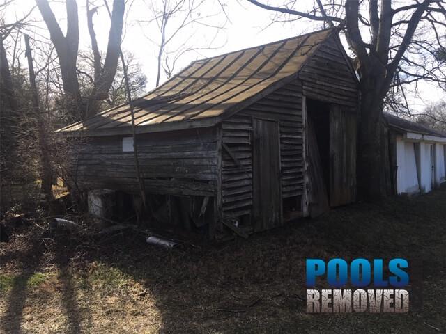 VA remove a pool