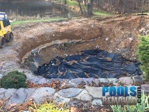 Pool removal company in VA