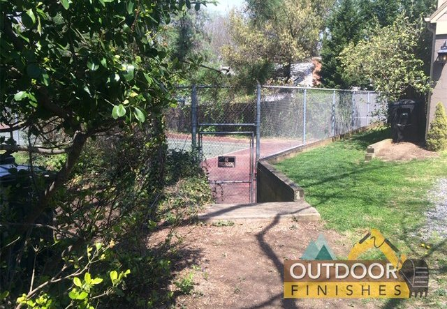 Tennis Court Removal VA & MD