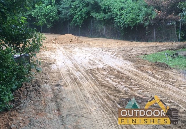 Tennis court removal in Bethesda MD