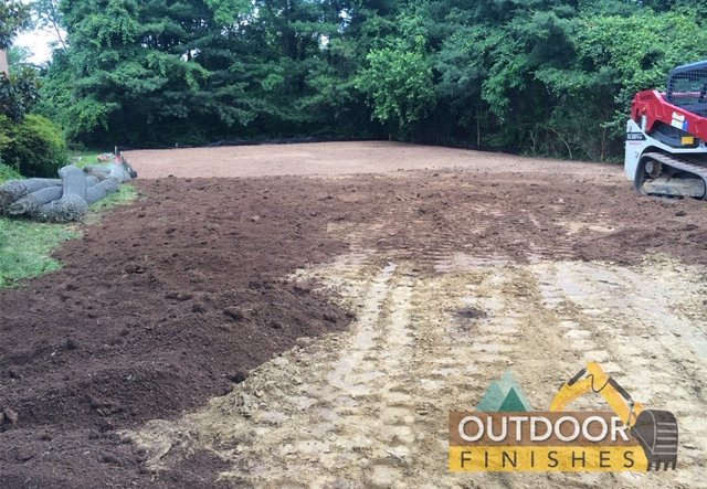 Tennis court removal in Baltimore MD