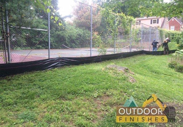 #1 tennis court removal Fairfax VA