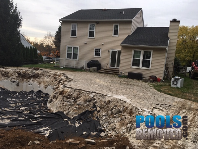 Swimming pool removal company columbia md