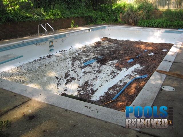 Pool removal alexandria va