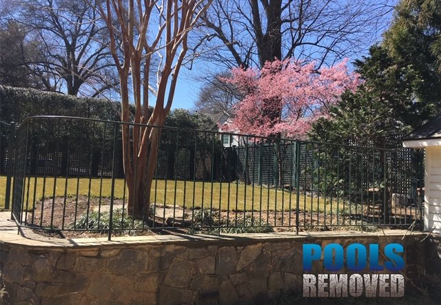 Pools Removed Bethesda MD