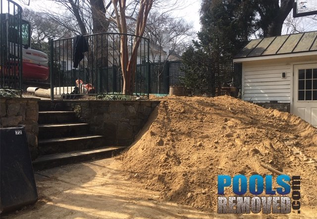 residential pool removal in Maryland
