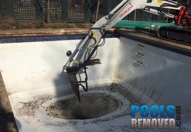 bethesda maryland pool removal