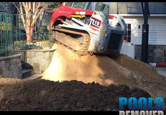 MD Pool Demolition
