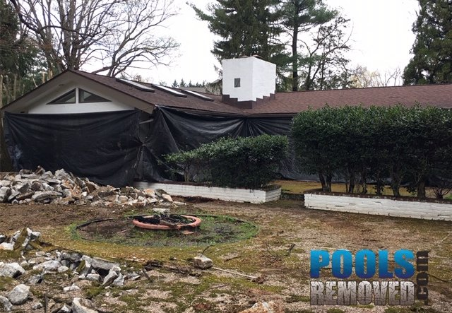 Get rid of my pool in potomac maryland