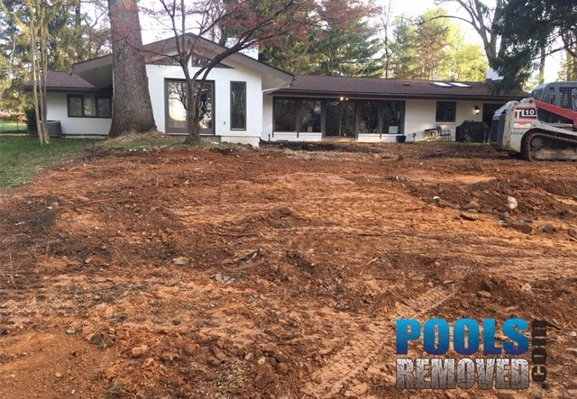 Remove a pool in potomac md