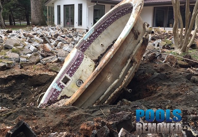 Remove a swimming pool in maryland